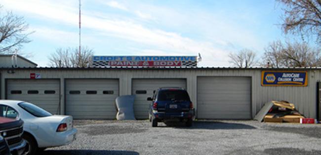 Croft's Garage - Building
